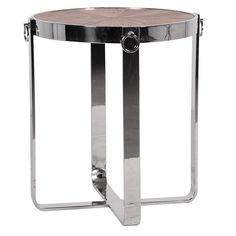 Tobias Steel Frame Round Side Table Beautifully Designed. Our Furniture & Accessories are all made to a high standard with covered warranty for peace of mind. Make your Home Inspirational. La Maison Chic Luxury Furniture Free UK* Delivery Call 0800 1337828 to speak to our sales team.