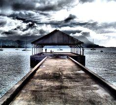 Hanalei Pier, Hanalei, Kauai