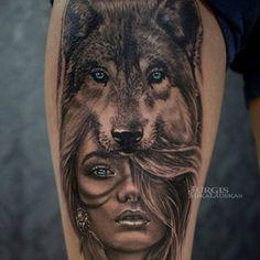 Profundo Significado De Los Tatuajes De Indios Y Lobos Lobos