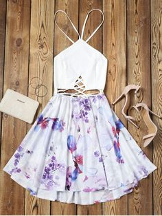 Up to 80% OFF! Criss Cross Backless Floral Flare Dress. #Zaful #Dress Zaful,zaful dress,zaful outfits,black dress,dress,dresses,fashion,fall fashion,fall outfits,winter outfits,winter fashion,dress,long dress,maxi dress,long sleeve dress,flounced dress,vintage dress,casual dress,lace dress,boho dress,dresses casual,flower dresses,maxi dresses,evening dresses,floral dresses,long dresses,party dresses,gift,Christmas,ugly Christmas, New Year 2017, New Year Eve. @zaful Extra 10% OFF Code:ZF2017
