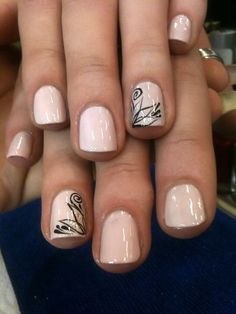 Image via Red nails gold accents Image via Pretty Short Nail Designs For Spring and it's Nerium colors Image via Simple Nail Art Designs for Short Nails Image via fun summ Cute Nail Art Designs, Short Nail Designs, Simple Nail Designs, Nail Design For Short Nails, Light Pink Nail Designs, Neutral Nail Designs, Accent Nail Designs, Awesome Designs, Nails Design