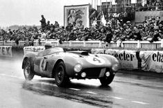 Maurice Trintignant (1917-2005) became the first French driver to win the 24 Hours of Le Mans, driving a Ferrari 1954