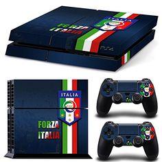 GOOOD PS4 Designer Skin Decal for PlayStation 4 Console System and PS4 Wireless Dualshock Controller - Forza Ltalia GOOOD http://www.amazon.com/dp/B016W0IERW/ref=cm_sw_r_pi_dp_mE1rwb13WN9WS