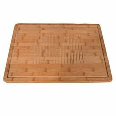 "Bamboo Lattice Cutting Board Case Pack 5 - 745388 by DDI. $167.92. Please refer to the title for the exact description of the item. 100% SATISFACTION GUARANTEED. All of the products showcased throughout are 100% Original Brand Names.. Our Bamboo's Lattice Cutting Board measures 20"""" x 14"""" x 3/4"""". We have created center grooved surface that helps to keep meats from sliding around as you carve them. The board is very durable and very attractive, super strong an..."