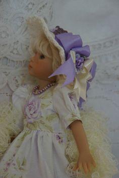 "Effner 13"" Little Darling *LAVENDER LOVELY* Ensemble by Ladybugs Doll Designs"