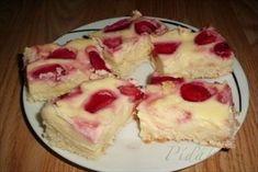 Zobrazit detail - Recept - Tvarohovo jahodový koláč