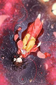 Anime Girl Cute, Anime Art Girl, Enma Ai, Anime Kimono, Ecchi, Anime Japan, Fantastic Art, Anime Scenery, Anime Comics