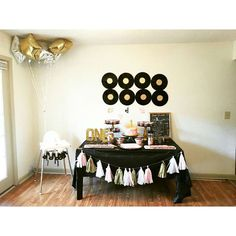 Music Themed Birthday Party Ideas   Photo 2 of 12   Catch My Party