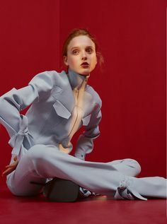 "haironfirelouisg: "" Madison Stubbington for Glamour Uk Photographer Jens Langkjaer Styling Natalie Hartley Hair Louis Ghewy """
