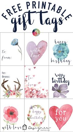 Free download birthday gift tags packaging by napcp national free download birthday gift tags packaging by napcp national association of professional child photographers pinterest birthday tags free negle Image collections