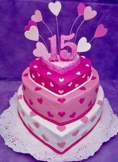 imagenes de tortas de quince años para descargar