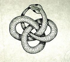 Ouroboros Design by Good Winter    The Ouroboros is a symbol that, as Carl Jung said, has great significance in the human psyche. It origi...