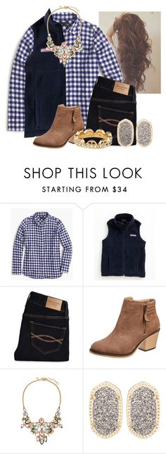 """""""I really like this❤️"""" by flroasburn ❤ liked on Polyvore featuring J.Crew, Vineyard Vines, Abercrombie & Fitch, Kendra Scott, Kate Spade, women's clothing, women's fashion, women, female and woman"""