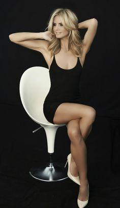 Heidi Klum for Sharper Image.