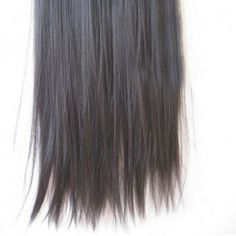 Fashion Long Straight High Temperature Fiber Women's Hair Extensions, BROWN in Hair Extensions | DressLily.com