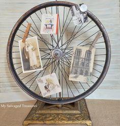 Wheel Meets Lamp Base