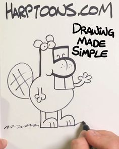 Drawing Games For Kids, Drawing Tutorials For Kids, Easy Drawings For Kids, Art For Kids, Robots Drawing, Book Drawing, Pencil Art Drawings, Cartoon Drawings, Alphabet Drawing