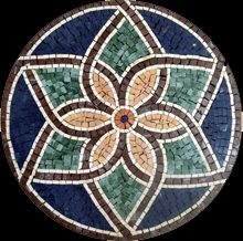 Our mosaic tiles are hand cut from natural marble and mounted on mesh for easy worldwide delivery. Tile Crafts, Mosaic Crafts, Mosaic Projects, Mosaic Art, Mosaic Tiles, Mosaics, Mosaic Stepping Stones, Stone Mosaic, Mosaic Glass