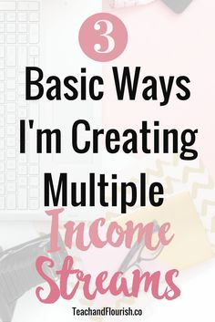 Creating multiple income streams is one of the best financial decisions you can make for your business. Here are 3 basic ways of diversifying your income.