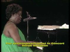 ▶ Sarah Vaughan in concert Once In A While - YouTube