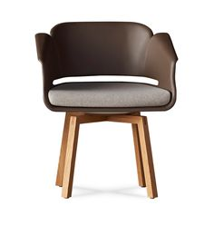 The Lyss Chair by Carl Gustav Magnusson for Allseating - Design Milk