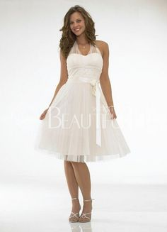 $138.49White Attractive Satin Halter #Mini #Wedding Dress With Embroidery Knee Length Cocktail Dress, White Cocktail Dress, Cocktail Dresses, White Dress, Wedding Dresses Under 100, Cheap Wedding Dress, Reception Dresses, Tulle Wedding, Wedding Vows