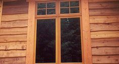 Cedar Siding milled to order delivered to your jobsite. Cedar siding - prices and pictures, grade descriptions and pattern diagrams. Cedar Shake Siding, Wood Siding, Cedar Shakes, Front Porch Columns, Cedar Paneling, Garage Exterior, Building A Tiny House, Wood Shed