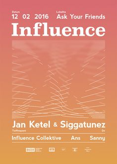 Rudolf Matejcek / Influence poster