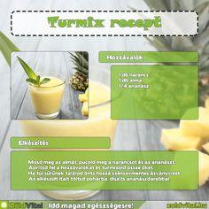 Készítsd el te is ezt a finom ananászos turmixot #turmix #recept