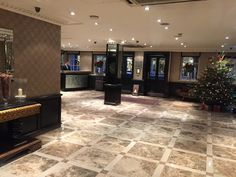 The grand lobby at Flemings Mayfair Hotel, London #GuestBlog