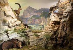 Historic Alpine Dioramas