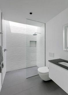 A Car Collector's Modern Residence by Matt Fajkus Architecture #modernarchitecturebathroom