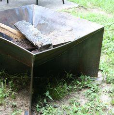 steel fire pit www.metalfred.com