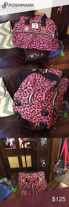 Victoria Secret Pink Luggage Used condition no holes at all zippers work great... very cut piece to add to your PINK collection Other