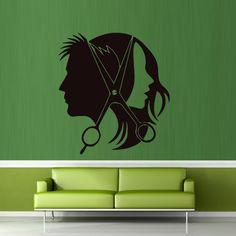 Wall decal decor decals sticker art salon by DecorWallDecals, $28.99