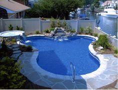 pequeña piscina