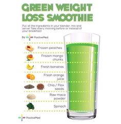 Healthy smoothie for weight loss
