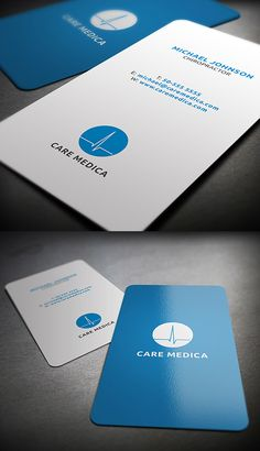 Medical Business Card #businesscards #visitingcards #roundedbusinesscards