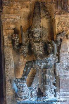 Thanjavur Brihadeeswarar Temple Dwarapalaka