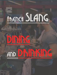 Weekend is coming! Let's learn some French slangs and phrases used in dining and drinking. E.g: la picole= boozing / rétamé, être = to be hammered (legless). http://www.talkinfrench.com/slang-words-dining-drinking/ Please share to your alcoholic friends. (but if you drink keep it moderate)