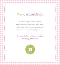 An exciting new collection is almost here!