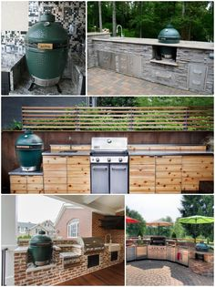 """Acquire terrific ideas on """"outdoor kitchen designs layout patio"""". They are actually available for you on our internet site. Big Green Egg Outdoor Kitchen, Backyard Kitchen, Outdoor Kitchen Design, Outdoor Kitchens, Kitchen Modern, Backyard Hammock, Backyard Patio, Outdoor Cooking Area, Patio Grill"""