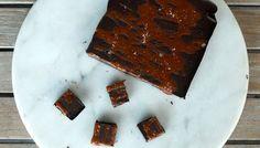 Karamel zeezout chocolade