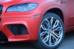 Fostla Gives BMW X5 M 650 Ponies and a Matte Red Cloak