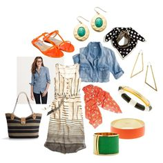 Afternoon Shopping at the Farmer's Market: Perfect for casual spring & summer outings. Wardrobe Planner, Capsule Wardrobe, Farmers Market, Get Dressed, Style Guides, Style Me, Spring Summer, Casual, Polyvore