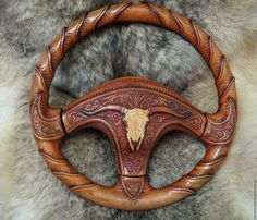 Webpage not in English but cool looking steering wheel cover