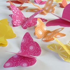 Butterfly decor Butterfly Decorations, Butterfly Crafts, Birthday Decorations, Spring Decorations, Butterfly Birthday Party, 1st Birthday Parties, American Girl Parties, Big Butterfly, Origami