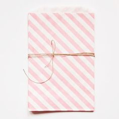 whisker graphics | pink striped bags