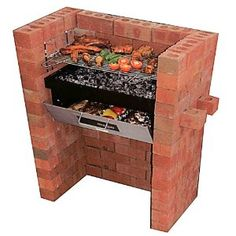 A nice, simple BBQ for a small outdoor space.