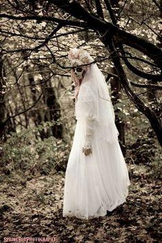 Sugar Skull Wedding Shoot Skulls Wardrobe Ideas Photoshoot Photo Shoots Costume Addiction Death
